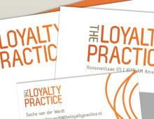 Branding design 'the loyalty practice'