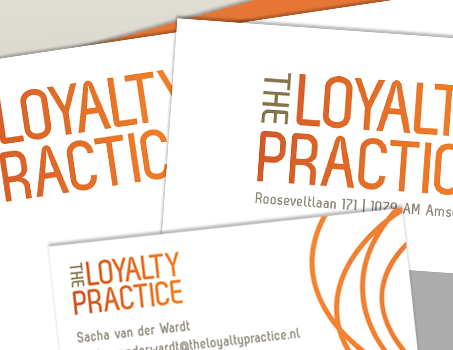 Branding design 'the loyalty practice'